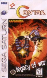 Contra : Legacy Of War